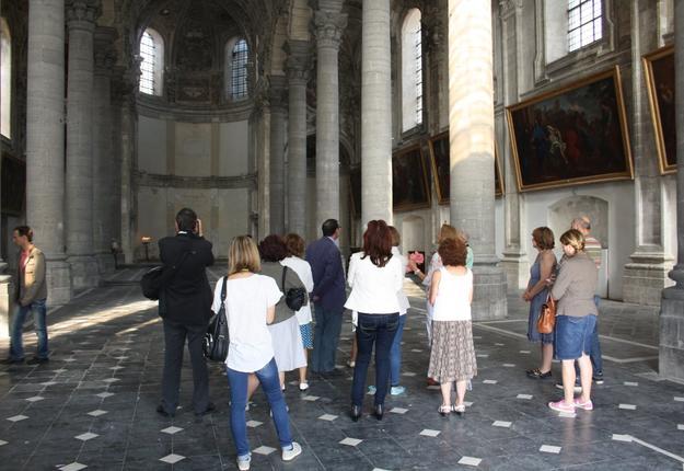 Visite guidée chapelle jésuites